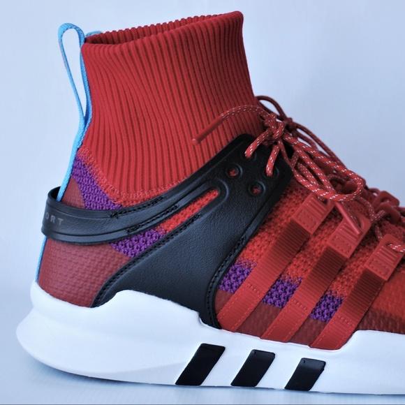 Zapatillas adidas EQT Support ADV escarlata us11 poshmark choque purpura